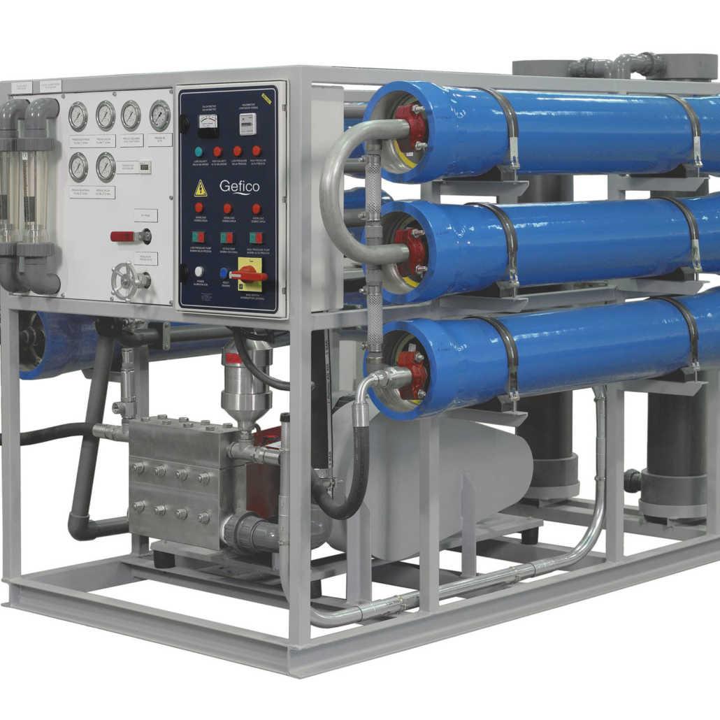 Reverse Osmosis Dieselship Process Flow Diagram Plant