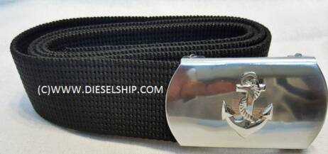 MERCHANT NAVY BELT - BLACK COLOR
